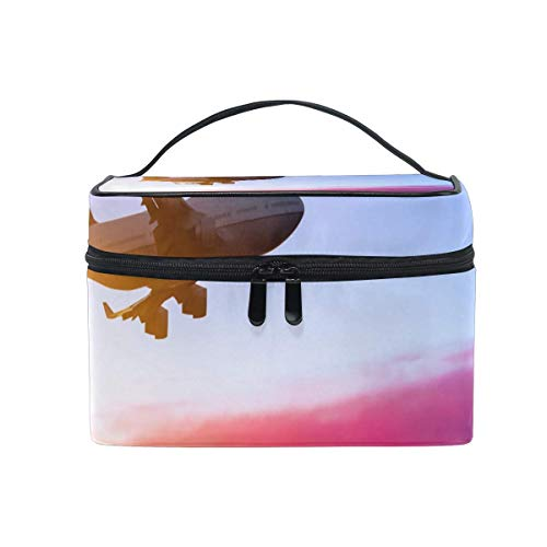 Tragbare hängende Make-up Kosmetiktasche Tasche,Makeup Bag Flying to South America from Australia Cosmetic Bag Portable Large Toiletry Bag for Women/Girls Travel