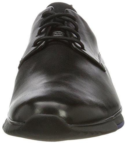 Clarks Herren Tynamo Walk Low-Top Schwarz (Black Leather)