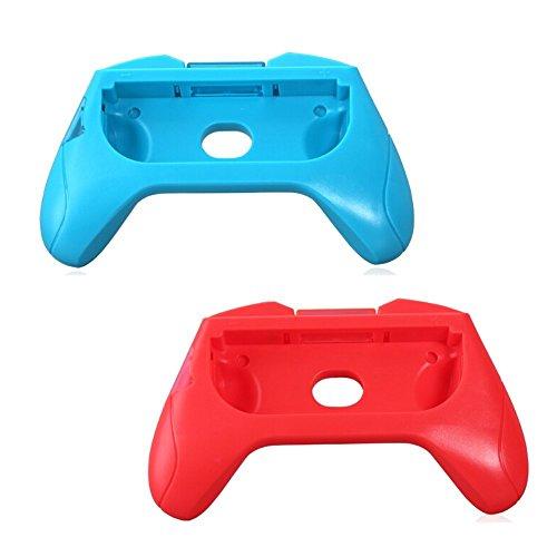 Amazingdeal3651Set mit Handgriffen, Halterungen, Ständer, ABS-Kunststoff, links + rechts für Nintendo joy-con Controller