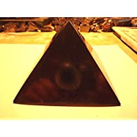 Boviswert Schungit Pyramide,Poliert, ca 60x60mm,aus Karelien,mit Zertifikat! preisvergleich bei billige-tabletten.eu