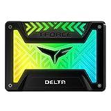 Team Group Delta RGB Memoria a stato solido SSD, 250GB, Nero