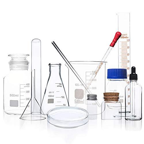 Laboratorio Químico Cristalería Borosilicato Espesar