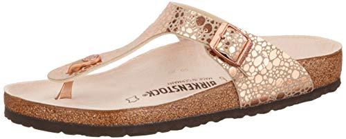 BIRKENSTOCK Gizeh Damen Sandalen Pink - Womens Lo Pro Schuhe