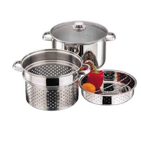 pasta-vegetable-steamer-casserole-colander-pan-set-24cm-6-litre