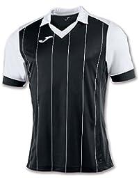 Joma Grada Camiseta de Manga Corta, Hombre, Multicolor (Negro/Blanco),