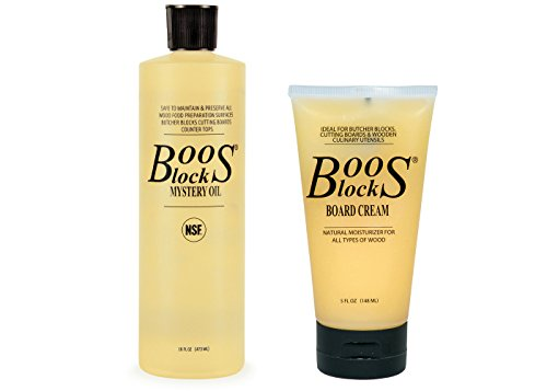John Boos Mystery Oil and Board Cream Set by John Boos -
