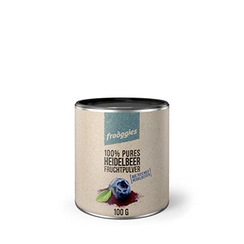 frooggies Fruchtpulver Heidelbeere, 100 g