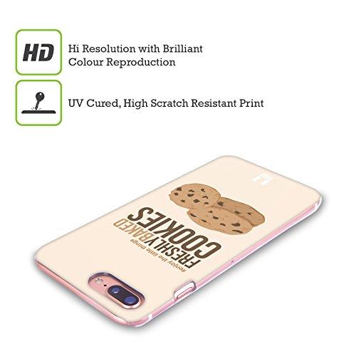 Head Case Designs Musica Amare Le Piccole Cose Cover Retro Rigida per Apple iPhone X Biscotti