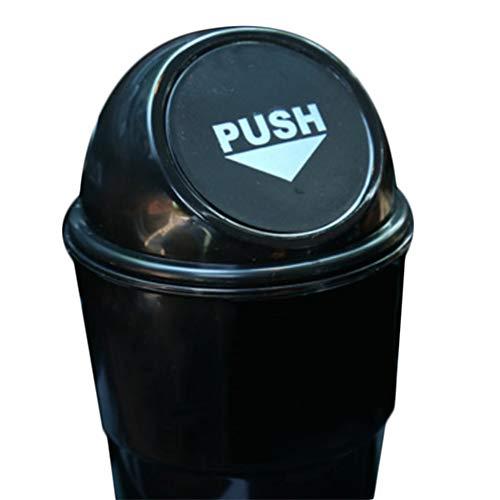 leimer Abfall Lagerung Gemeinsam Auto Mülleimer handliche Auto Abfalleimer Muell Papierkorb für Auto Büro Haus (Schwarz) ()