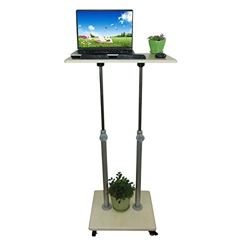 (DS-Computertisch Computertisch - Mobile Höhenverstellbares Lesepult Schutz für Gebärmutterhals-Schreibtisch Gesundheitsstation Sit Watch Schreibbüro Internet Laptop Schreibtisch Optionale Größe &&)