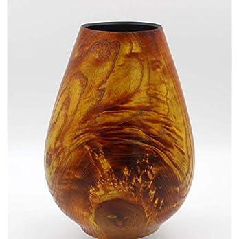 Vase aus Esche – coloriert