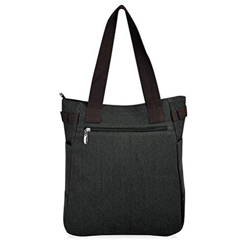 Honeymall Donne Canvas Handbag Vbiger Borse da Donna in Tela Gatto Carino Borse a Spalla Rosso