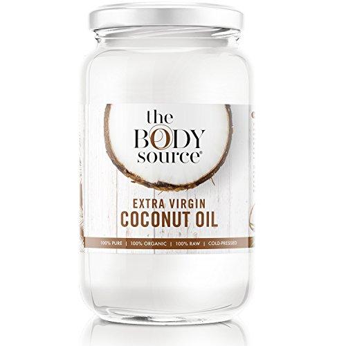 Seifen-lotion-massage-Öl (The Body Source Bio Kokosöl 1000ml (1L) - Premium Kokosfett für Haare, Haut und zum Kochen - nativ, organisch zertifiziert und kaltgepresst)