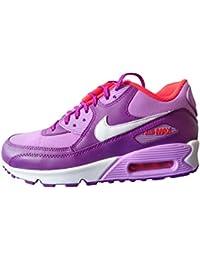 Nike Air Max 90 Mesh (GS), Zapatillas de Running Niñas
