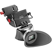 """Neewer® Universal 3X Aumentos Visor LCD con Levanta Hacia Arriba Ocular y Soporte Extender para Canon, Nikon, Sony, Olympus, Pentax Cámaras DSLR, se ajusta la Pantalla LCD Tamaño 3""""-3.2"""""""