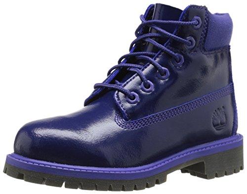 Timberland 6 inch Premium Waterproof Boot (Little Kid),Purple Shine,13 M US Little Kid