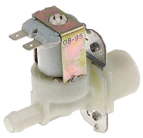 ELBI Magnetventil Ausgang 11,5mm max. Temperatur 60FC 120VAC DN10 gerade 1-fach Eingang 3/4' (Magnetventil-120v)