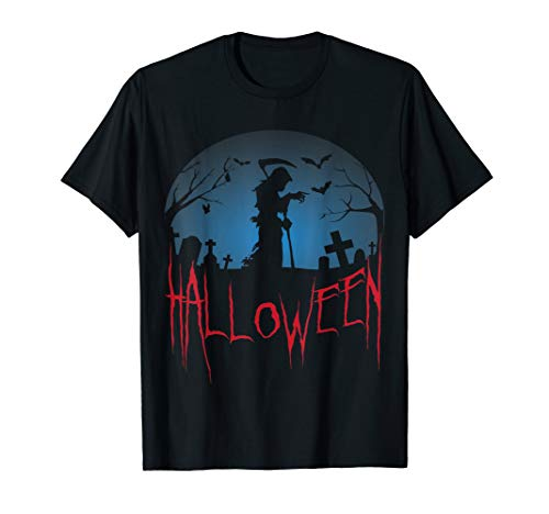 October 31st Grim Reaper Fright Night Halloween Party T-Shirt (Top 10 Halloween Horror Nights)