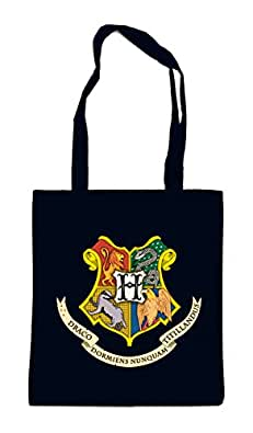 Hogwarts Shield Bag Black Certified Freak