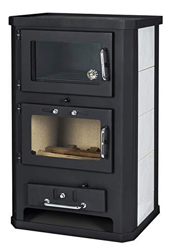 Estufa de leña con horno de 10/15 kW de potencia de calefacción...