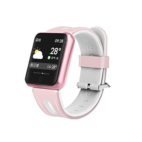LQIAN P68 Weibliche 0,96 Zoll IPS Farbdisplay Smart Armband Fitness Wasserdicht IP68 Tracker EKG Bluetooth 4,0 Schlaf Überwachung Anruferinnerung Mit Android und ios