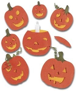 Jolee's Boutique Themed Simple Stickers, Halloween Pumpkins by Jolee's Boutique