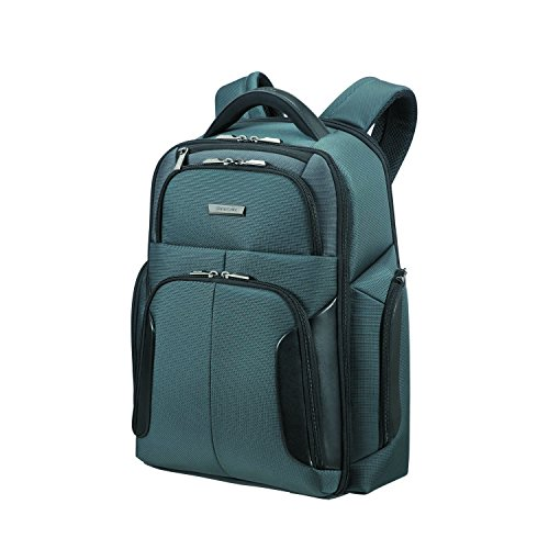 SAMSONITE XBR - Laptop Backpack 15.6' Zaino Casual, 48 cm, 22 liters, Grigio (Grey/black)