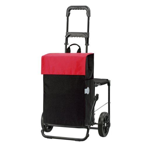 Andersen Shopper Komfort mit Tasche Hera 44 Liter rot