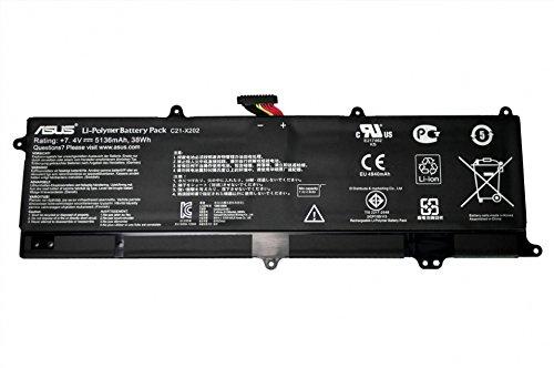ASUS Batterie 38Wh Original X202E-3K