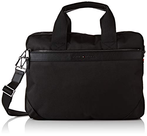 Tommy Hilfiger Elevated Nylon Computer Bag, Sacs...
