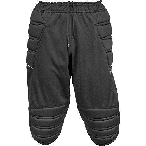 Reusch Pantaloni da allenamento a 3/4, da adulto, Unisex, Trainingshose Compact Shorts 3/4, Black, M