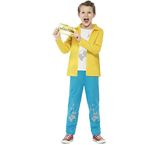 Boys Charlie Bucket Roald Dahl Costume - Large -