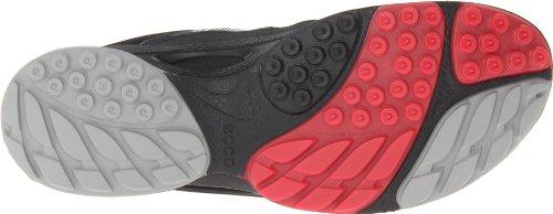 Ecco  Biom Ultra Black/Concrete/Teaberry S/T/D, Sandales sport et outdoor femme Gris - Grau (BLACK/CONCRETE/TEABERRY 58414)
