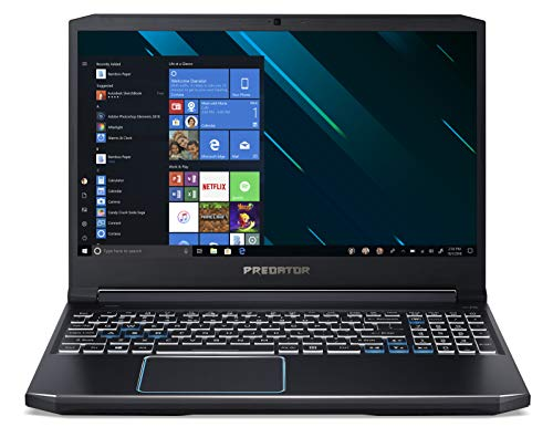 Acer Predator Helios 300 PH315-52-70M5 Notebook Gaming con Processore Intel Core i7-9750H, RAM da 16GB DDR4, 512GB SSD, Display 15.6' FHD IPS LED LCD 144Hz, NVIDIA GeForce GTX 1660Ti, Windows 10 Home