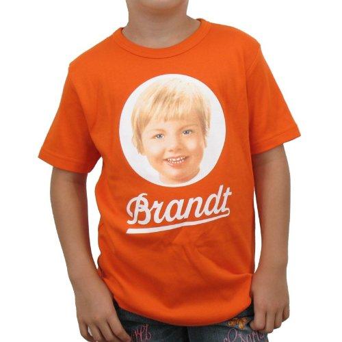 Logoshirt - Brandt Zwieback Kinder T-Shirt, orange, Größe:104/116