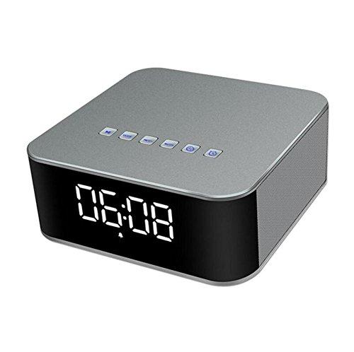 Bluetooth-Lautsprecher Drahtloser 20W Mini drahtloser HIFI FM mit Taktgeber Wecker Stereo Bluetooth Audio drahtloser Bluetooth Audio