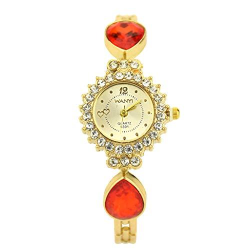 Orologio polso orologio da polso sportivo analogico al quarzo da donna