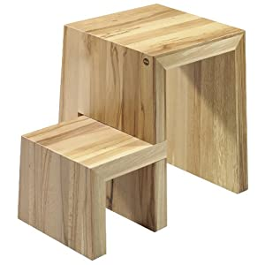hocker holz natur dein haushalts shop. Black Bedroom Furniture Sets. Home Design Ideas