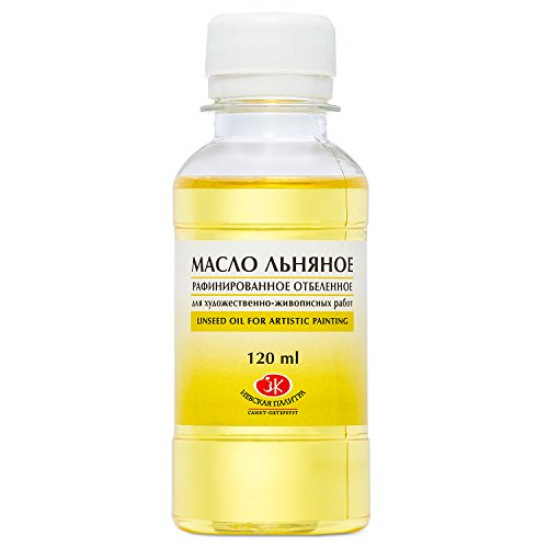 Leinöl für Farben zum Malen ideal für Ölfarben 120 ml gereinigt