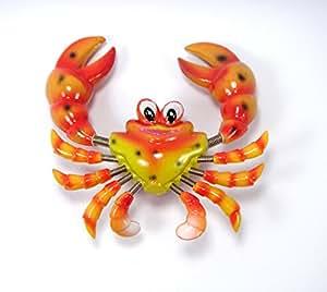 Crabe Bobble Magnets Aimant de réfrigérateur-cadeau Motif 3d magnétique N ° 02