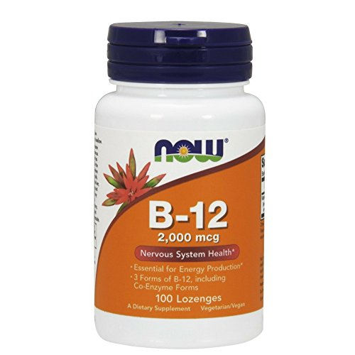 Now Foods B-12 2000mcg, 100-Count