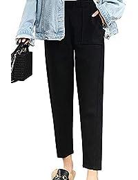 Abbigliamento Donna Donna Pantaloni Lana it Amazon HZ10Xn