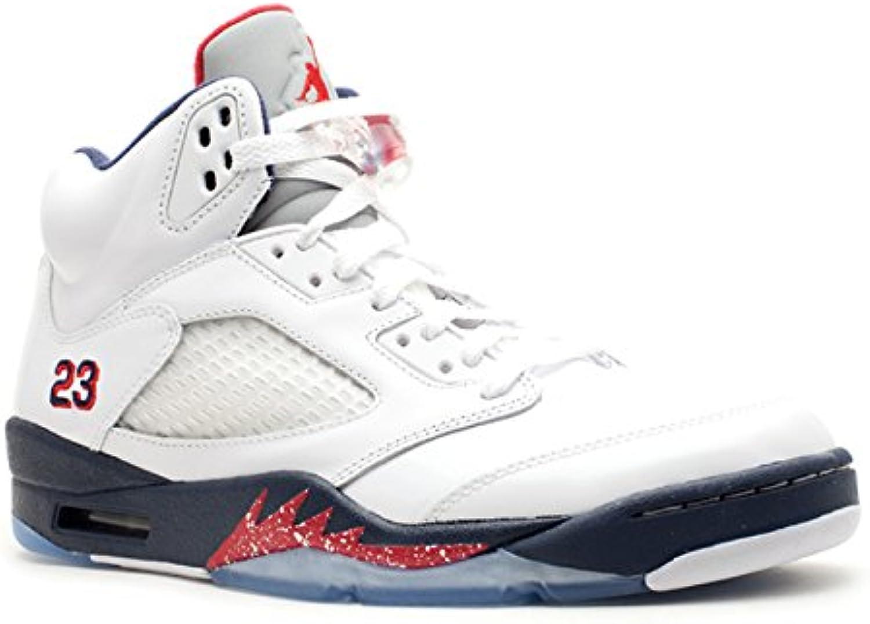 Nike Air Jordan 5 Retro 'Olympic'   136027 103
