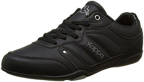 kappa-talia-sneakers-basses-femme-noir-914-black-silver-38-eu