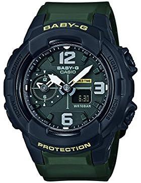 Casio Baby-G – Damen-Armbanduhr mit Analog/Digital-Display und Resin-Armband – BGA-230-3BER