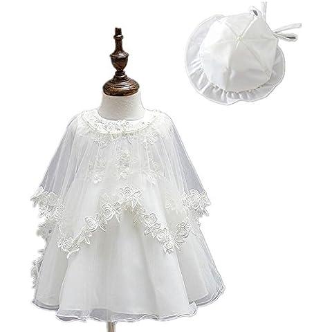 2Pcs apliques florales satén marfil Bañador para bautizo de novia Party Dress 1510