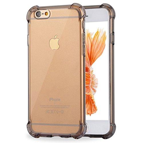 (iPhone 6Plus Case, iPhone 6S Plus TPU Klar Schutzhülle, ibarbe 3Stück Heavy Duty High Impact Resistant Hybrid-Schutzhülle für iPhone 6Plus und iPhone 6S Plus)