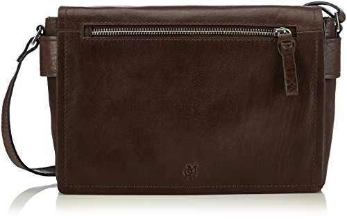 Marc O'Polo POST S 40716161601110 Damen Umhängetaschen 26x16x7 cm (B x H x T) Braun (dark brown 790)