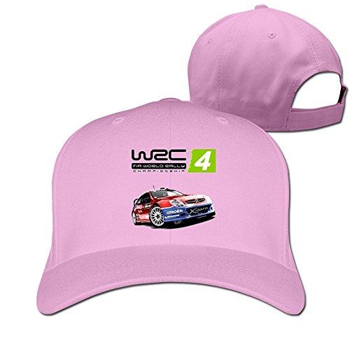 thna-wrc-4-championnat-du-monde-des-rallyes-reglable-fashion-casquette-de-baseball-rose-taille-uniqu