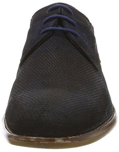 bugatti Herren 311249011400 Derby Blau (dark blue 4100)